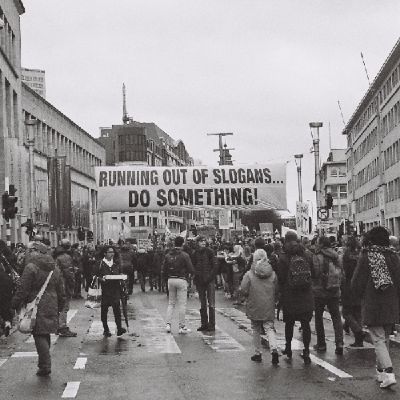 Climate Change Protest in Belgium