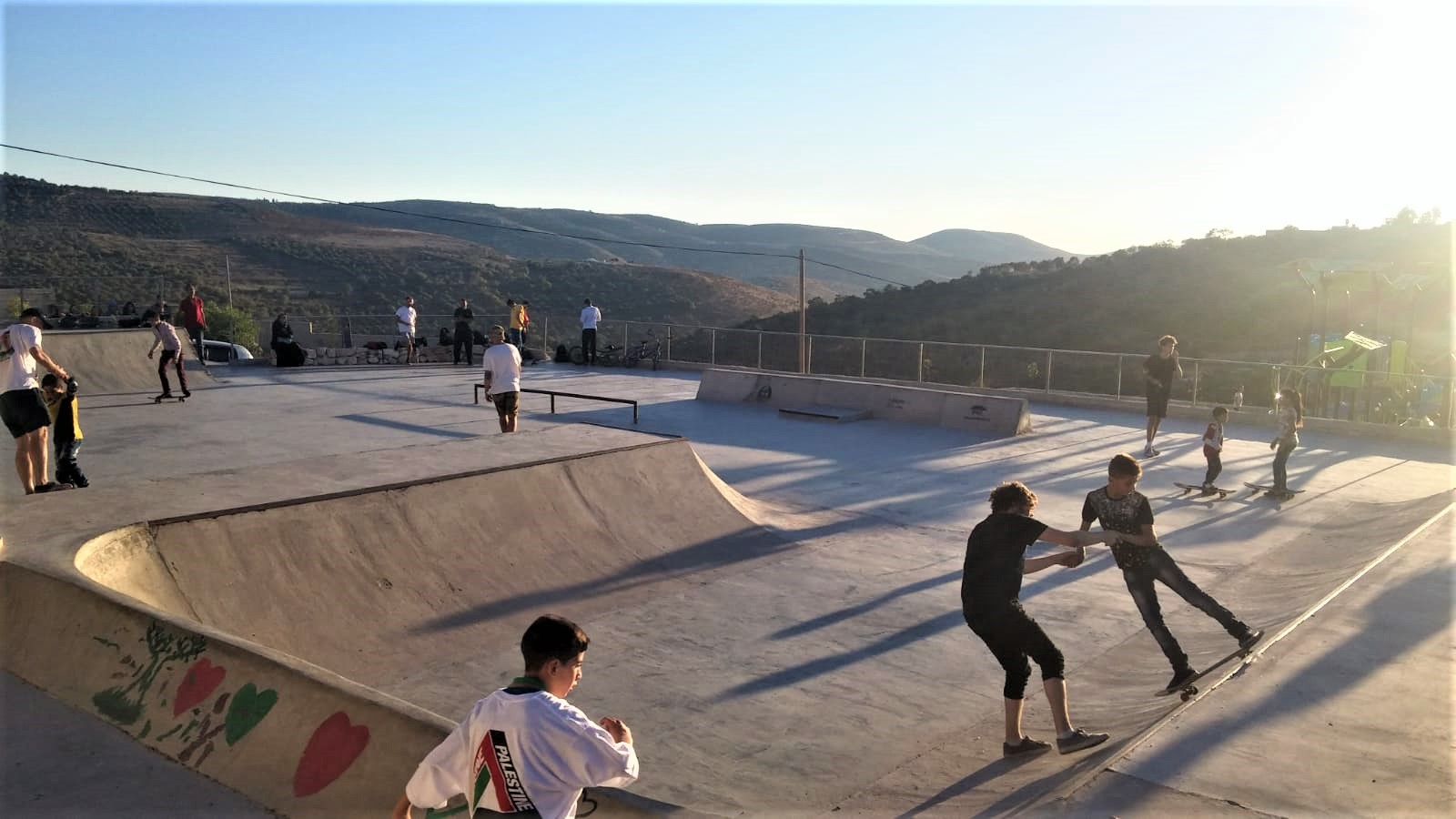 Two adventures in Palestine with SkatePAL
