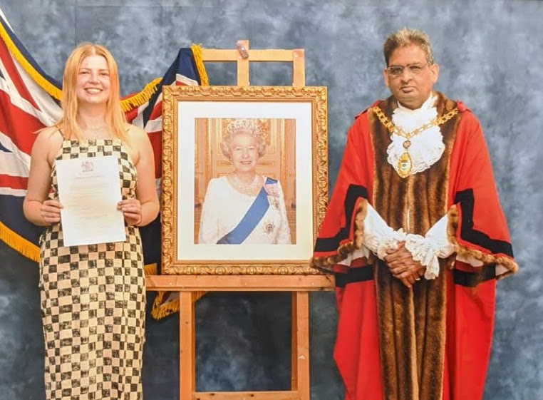 Monika receives British Citizenship at last